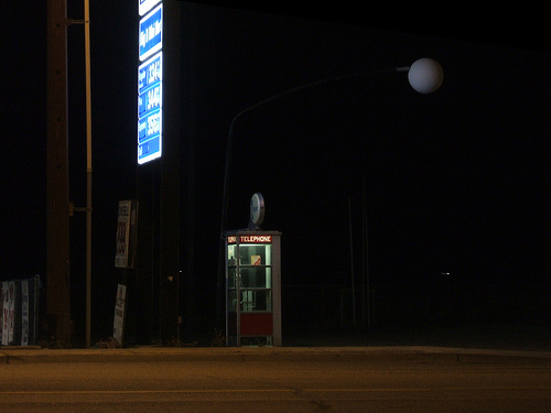 Ellensburg phone booth