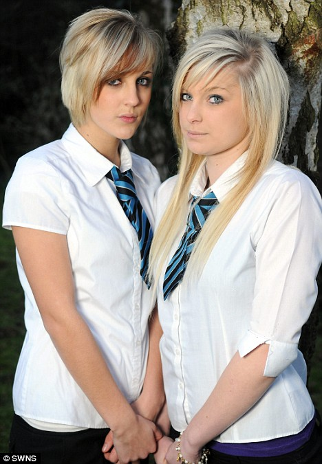 Schoolgirls banned from lessons by headmaster for being 'too blonde'