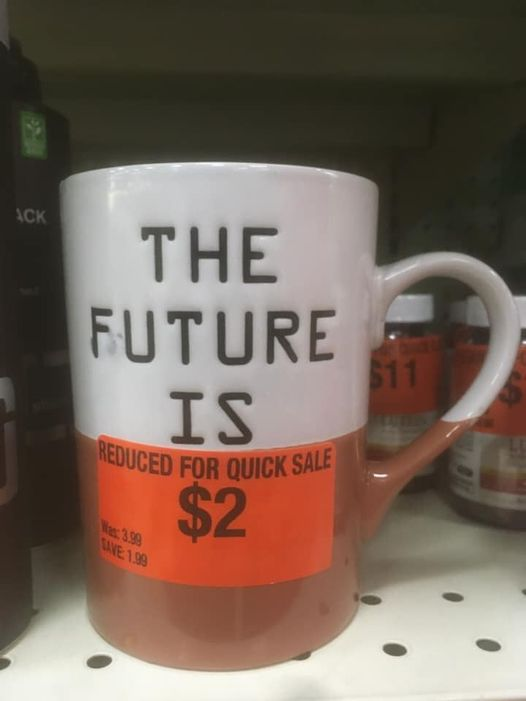the Future Is Reduced For Quick Sale $2